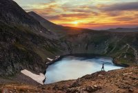 Топъл залез над езеро Окото ; Коментари:13