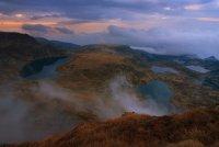 Езера и мъгли - поглед от Езерния връх, Рила Коментари: 9 Гласували: 27