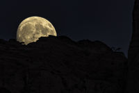 Moon rise over the rim; comments:6