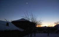 Луната и Венера след залеза на слънцето...; comments:14