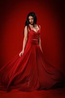 Lady in red; comments:4