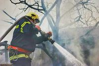 Fireman in action:); No comments