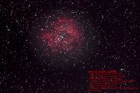 Rosette Nebula @ 300 mm (first attempt); comments:9