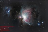 Orion & Running Man Nebulae (reprocessed); comments:7