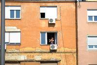 Уличен музикант на прозорец !; comments:15