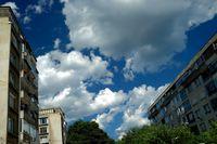 Късче небе в междублоковото пространство .; comments:9