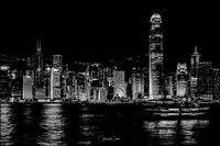 Hong Kong by night; comments:9