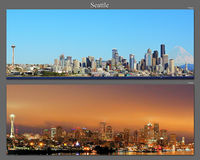 Seattle 7am vs 7pm; comments:5