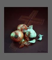 """""""Религия"""", тематичен натюрморт; comments:6"""