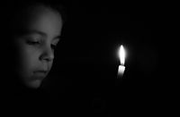 A sigle light in the darkness; No comments
