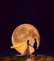 A promise in front of the Moon!; comments:3