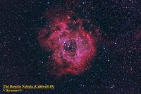 The Rosette Nebula (Caldwell 49); comments:9