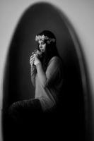 Момиче с цветя; comments:2