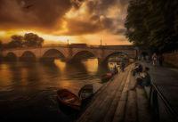 Привечер край реката; comments:8