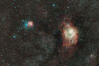 Lagoon & Trifid Nebulae; comments:10