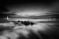 Blurred morning,Burgas; comments:6