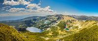Поглед към Якорудските езера от вр. Суха вапа 2639 н.в.; comments:3