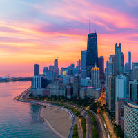 Chicago Sunrise; comments:12