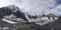 Палатковият лагер и ледника; comments:10