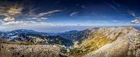 Панорама от вр.Вихрен; comments:2