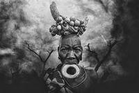Urban Mursi tribe woman; comments:14