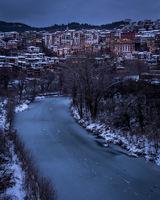Велико Търново и замръзналите води на р.Янтра; comments:3