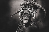 Mursi tribe lip plates; comments:25