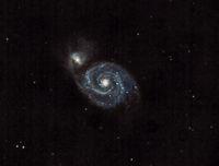 Галактиката Водовъртеж (M51); comments:8