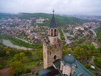 Царевец и Велико Търново в дъждовен ден; comments:4