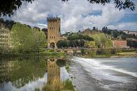 Флоренция и река Арно; comments:6