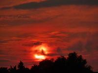 Rainy sunset; comments:25
