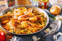 Spanish Seafood Paella; comments:1