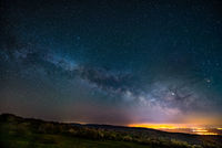 Млечният път над  Доброванските гъби.; comments:5