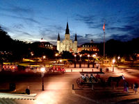 Jackson Square, New Orleans, Louisiana; comments:3