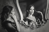 Girl in the mirror.; comments:48