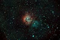 Мъглявината Трифида (M20 - Trifid Nebula); comments:5