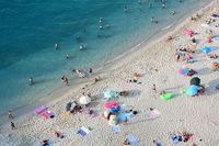 Плажът в Tropea; No comments