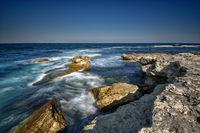 Скали в морето край гр.Царево.; comments:5