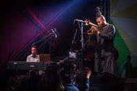 Christian Scott aTunde Adjuah at A to Jazz 2019; comments:2
