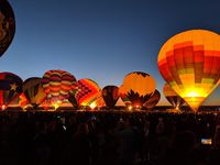 Albuquerque international Balloon fiesta, New Mexico; comments:9