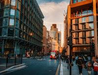 Градска скука, в залезна светлина; comments:4