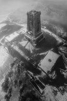 Първи сняг на Паметникът на свободата; comments:5