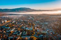Кюстендил и мъглата над Струма; comments:5