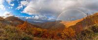 Есенно панорамно с дъга; comments:4