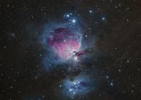 Orion Nebula & Running man Nebula; comments:20