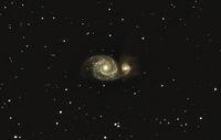 M51 - Whirlpool Galaxy / Галактика Водовъртеж; comments:8