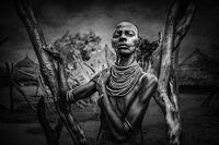 Woman from Karo