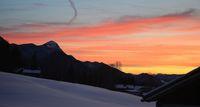 Зимна утрин в Австрийските планини; comments:2