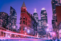 Blue Hour. Wintry Toronto; comments:2