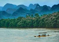 По река Ли, провинция Гуанши, Китай; comments:5